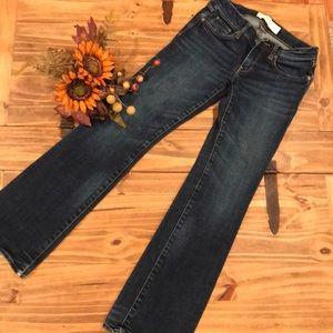 Abercrombie & Fitch | dark wash jeans